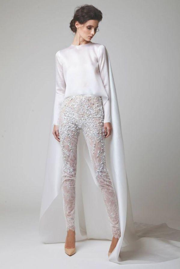 jumpsuit mono para novias vestido
