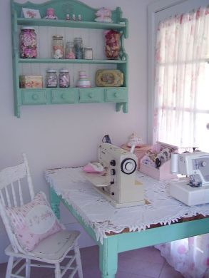 @ mariondee-designs: sewing nook..: