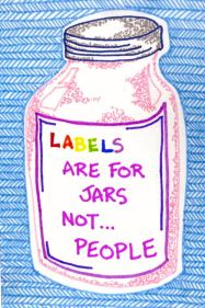Labels are for jars not for people