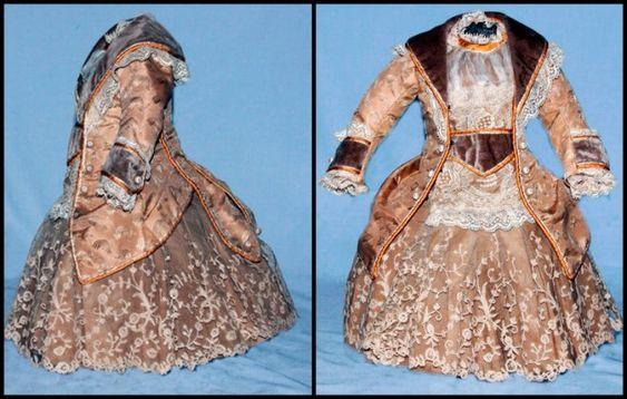 Платья для кукол Пандора: