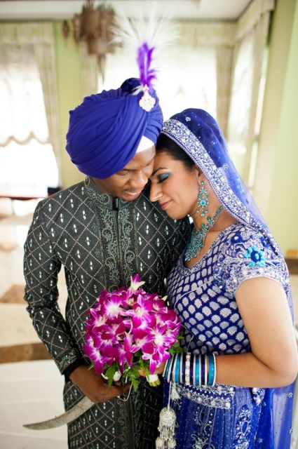 Indian and Nigerian Multicultural Wedding in Jamaica by Studio b Photography: