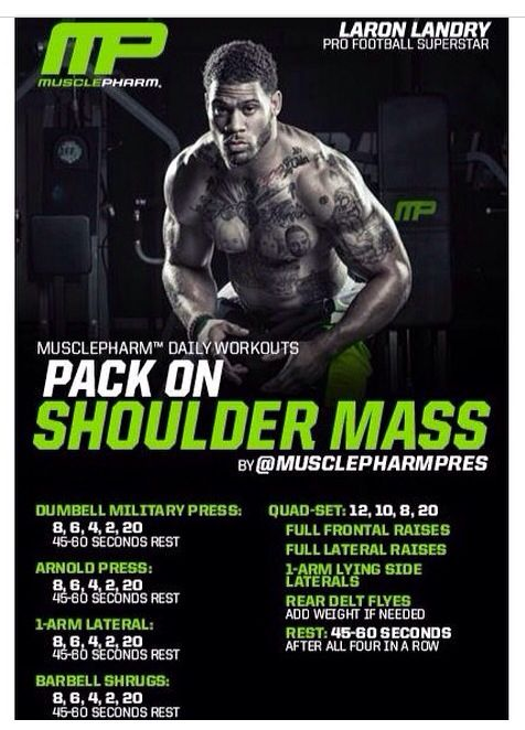 Muscle Fitness Shoulder Workout Pdf Eoua Blog