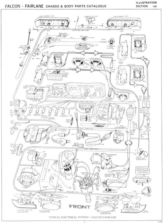 a230a5829ad7fd1c0a20bc31aeb408f9 ford falcon xf ute wiring diagram ford how to wiring diagrams ba falcon wiring diagram at bayanpartner.co