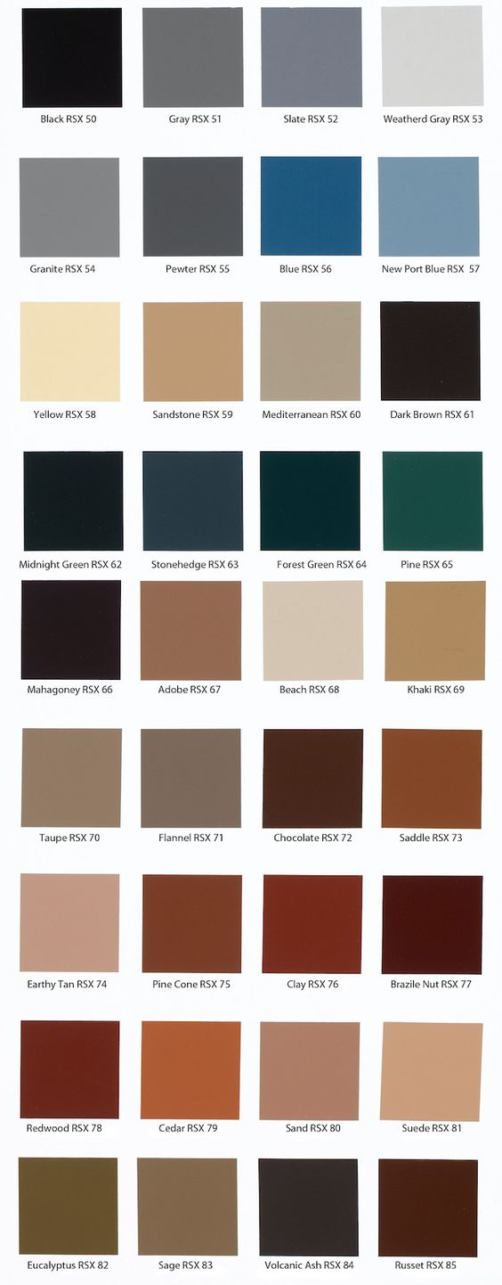 stains colors and color charts on pinterest on behr paint chart id=60995