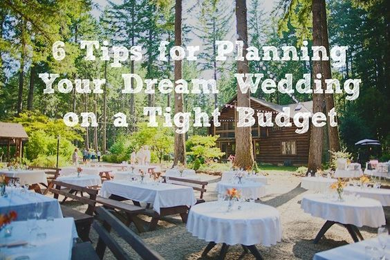 6 Tips For Planning Your Dream Wedding On A Tight Budget