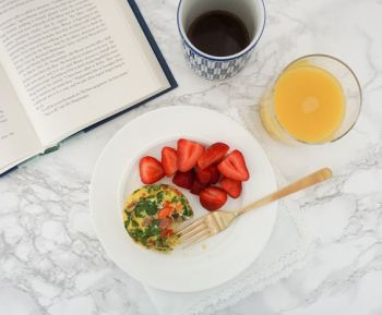 Breakfast is served! Recipe on the blog!: