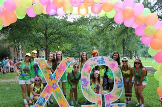 sorority recruitment at University of South Carolina!