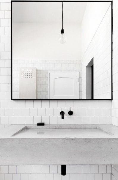 minimal bathroom