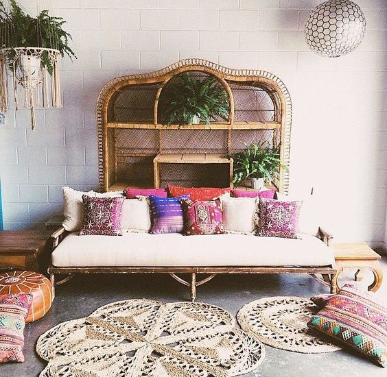 Recline on Rattan Beds...: