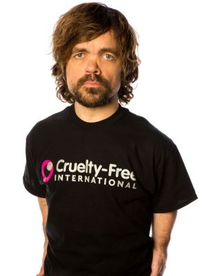 Peter Dinklage representing Cruelty-Free International