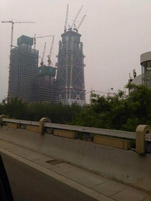 China Zun Tower in May