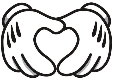 Download #Disney #heart #hand image. OWuls love to put a photo in ...