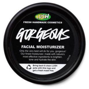 Lush Gorgeous moisturizer: