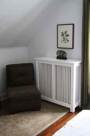 wooden radiator cover