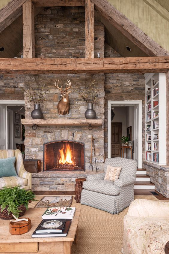 fireplaces deer and most beautiful on pinterest on stunning backyard lighting design decor and remodel ideas sources to understand id=73512