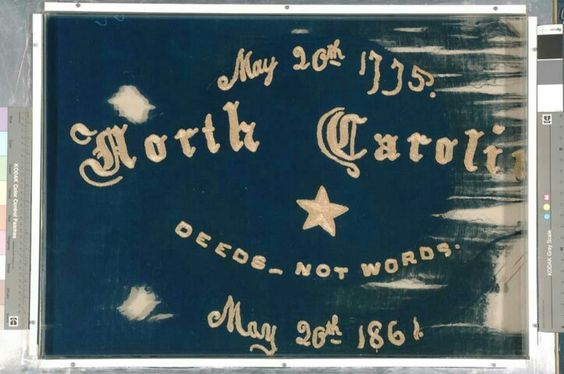 Side A: 6th Regiment NC Troops Flag made by Christine ...