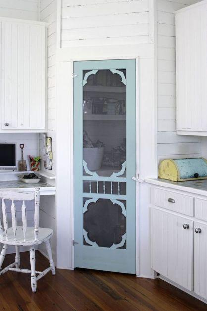 wire or mesh on pantry door