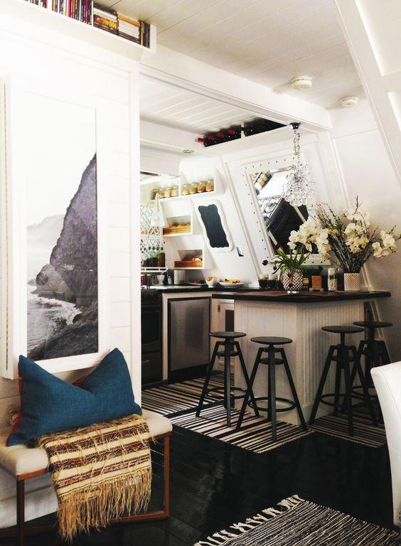 Before & After: An A-Frame Cottage Gets an A+ Renovation | Design*Sponge: