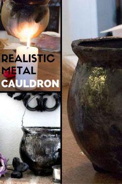 Country Mouse City Spouse Monday Mish Mash #38 Feature: Realistic Metal Cauldron @ Raven Would
