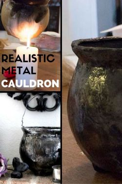 Country Mouse City Spouse Monday Mish Mash #38 Feature: Realistic Metal Cauldron @ Raven Would
