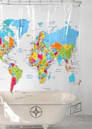 Gosta de viajar? No nosso blog você encontra inspirações de decor com mapas e indicações de produtos super bacanas da Mobly com estampa de mapa mundi para deixar a sua casa com a sua cara!: