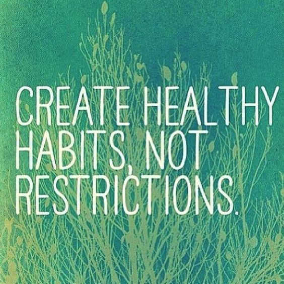Create Healthy Habits, Not Restrictions | How to stick to your health commitments | healthy lifestyle tips: