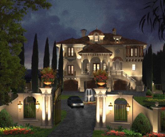 Luxury House Blueprint Plans Luxury Home Plans For French English Italian Style Castles Villas