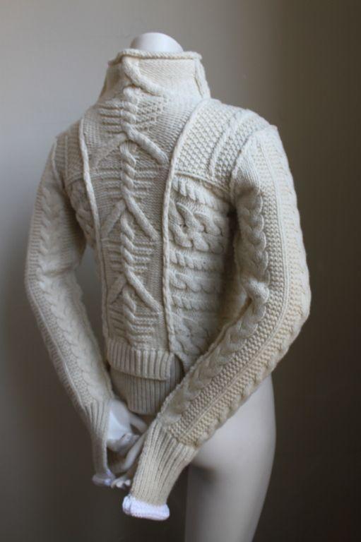 knitGrandeur: Aran Patchwork