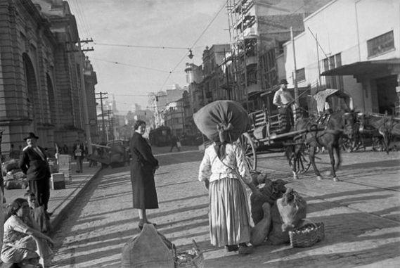 Mercado Municipal, São Paulo – década de 40.: