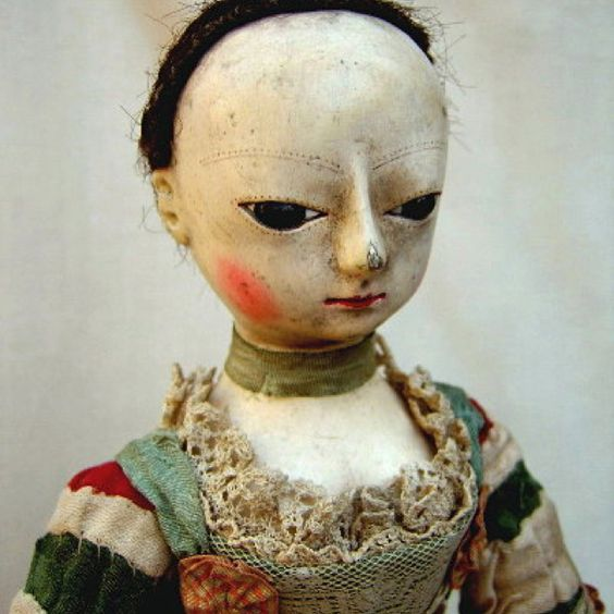 old doll: