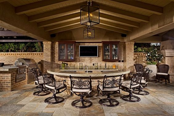 outdoor kitchens outdoor kitchen bar chairs countertop tv outdoor kitchen pinterest on outdoor kitchen tv id=99699