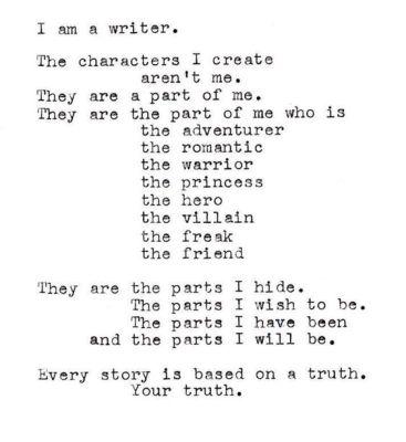 Writing:
