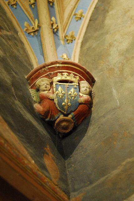 Le Clos Lucé - Amboise (Indre & Loire) - cul de lampe: