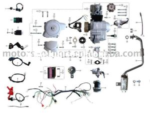 Coolster 110cc atv parts furthermore 110cc pit bike engine