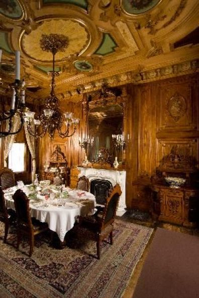 Victoria Mansion, Portland❤•♥.•:*´¨`*:•♥•❤Dining Room: