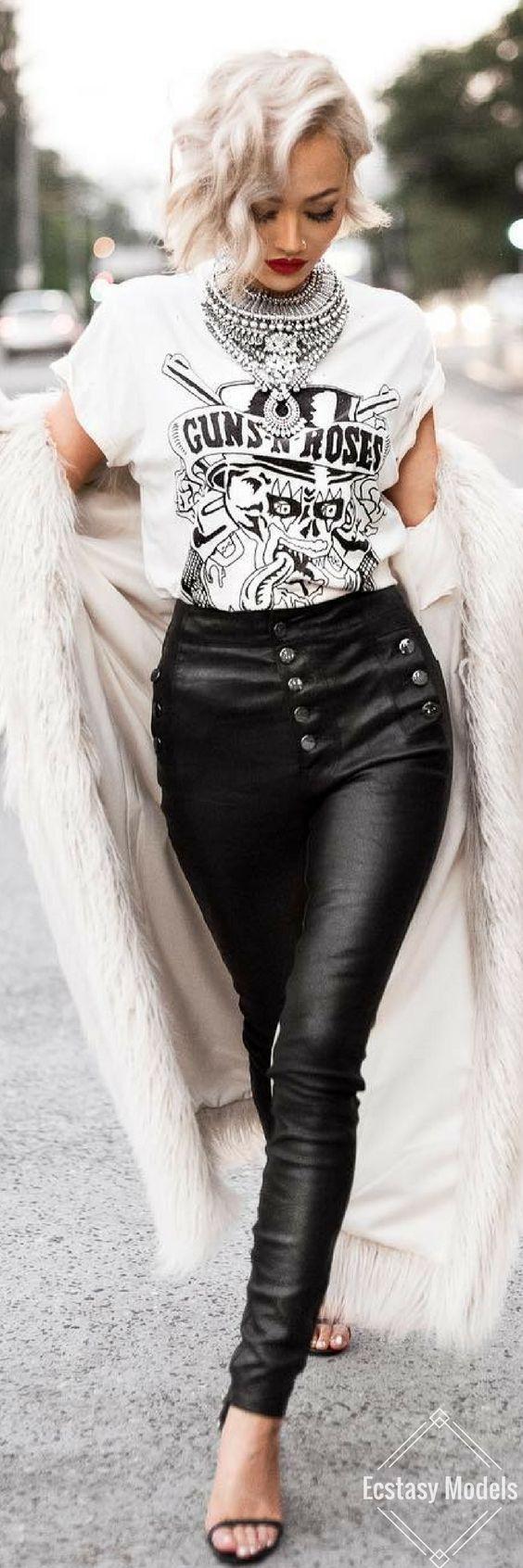 Rockstar // Fashion Look by Micah Gianneli: