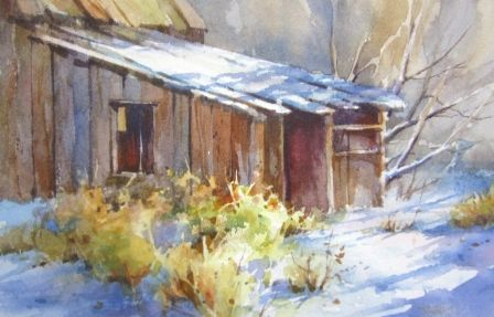 Watercolor Painting demonstration step by step by Roland ...