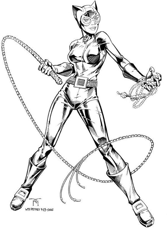 Catwoman Coloring Pages Google Search A Curated Group