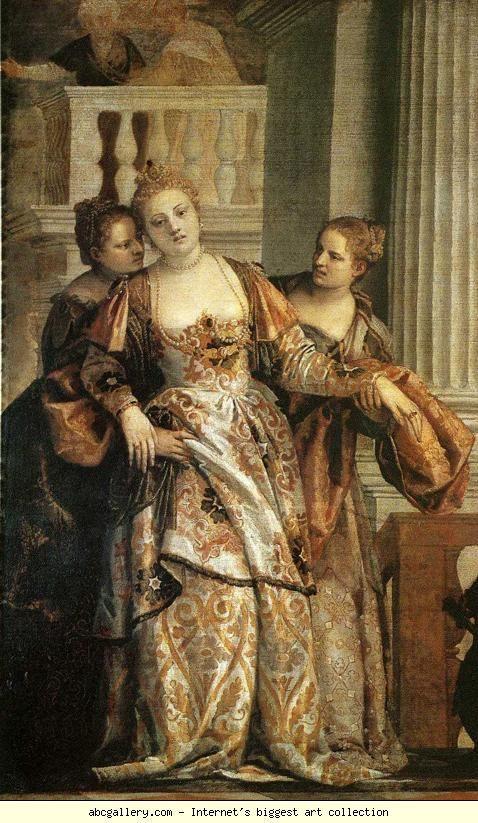 Paolo Veronese. Esther before Ahasuerus. Detail, Italian 16th Century: