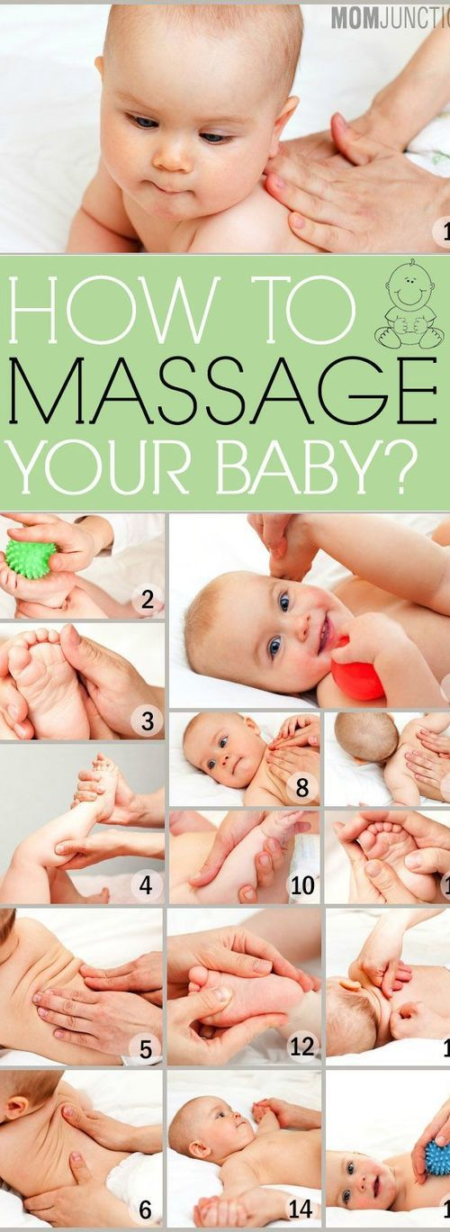 babies need love - massage