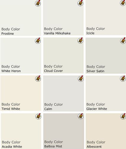 benjamin moore whites painted walls colors swatches on benjamin moore interior paint chart id=65481