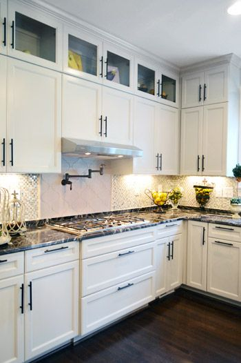 pinterest the world s catalog of ideas on kitchen cabinets with glass doors on top id=22328