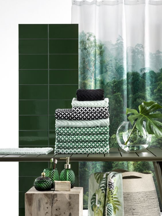 H&M Home, spring 2016 collection, urban jungle, green collection, plants: