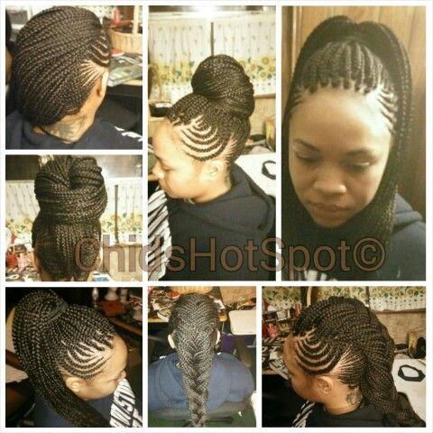 Individual Braids Mohawk Braid And Box Braids On Pinterest