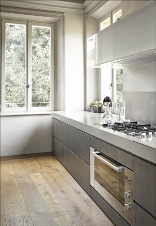 seamless kitchen units no handles earthy tones kitchen ideas pinterest the floor grey and on kitchen cabinets no handles id=69268