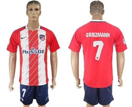 Atletico Madrid 17 18 camiseta