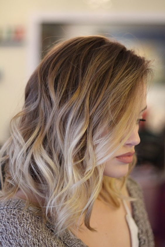 balayage summer hair color