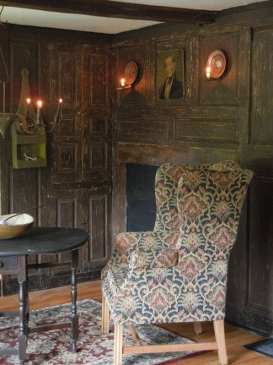 New England Home And Chairs On Pinterest