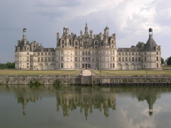 Chateau de Chambord, France: