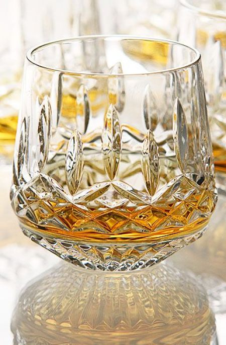 Waterford Lismore Crystal Whiskey tumblers Set of 4 Now $ 200.00: